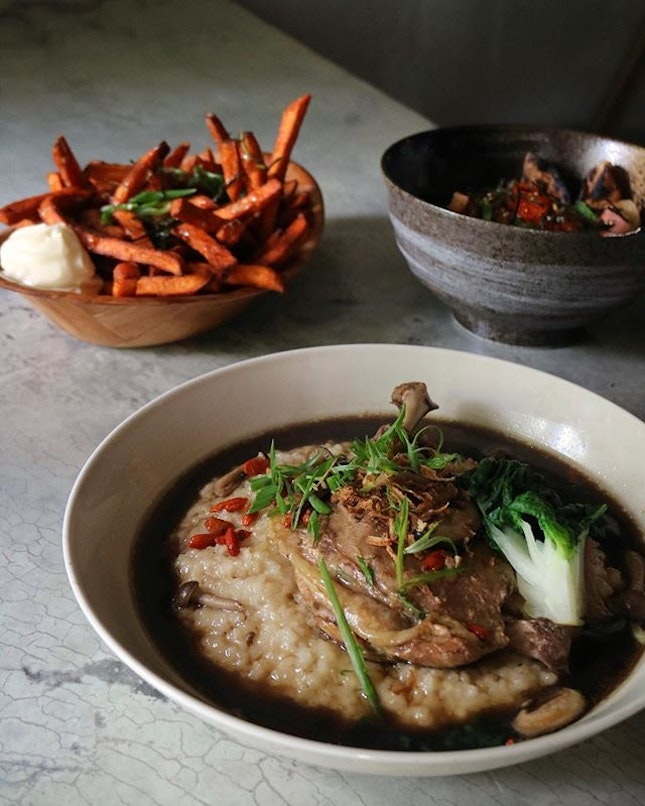 Herbal Duck Confit Risotto ($25).