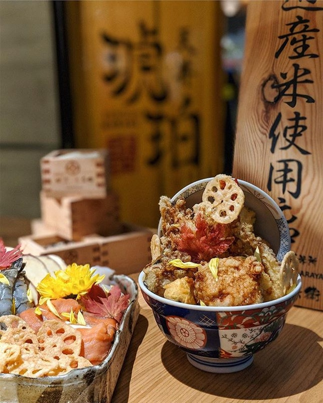 Delicious Autumn 🍂 Kohaku Tendon unveils the Hokkaido Autumn Seasonal Tendon ($17) which will be available from today till 16th Dec 2018 at all outlets.