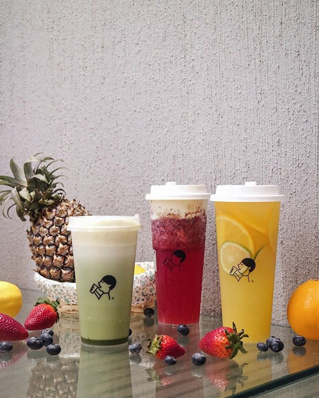 HEYTEA喜茶 is officially starts today!This is the first overseas foray for the brand, which is huge in China and also the original creator of cheese tea.