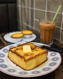 Craving for some Macaroni in tomato soup and French Toast with maple syrup.