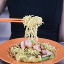 Old school flavour wanton mee.
