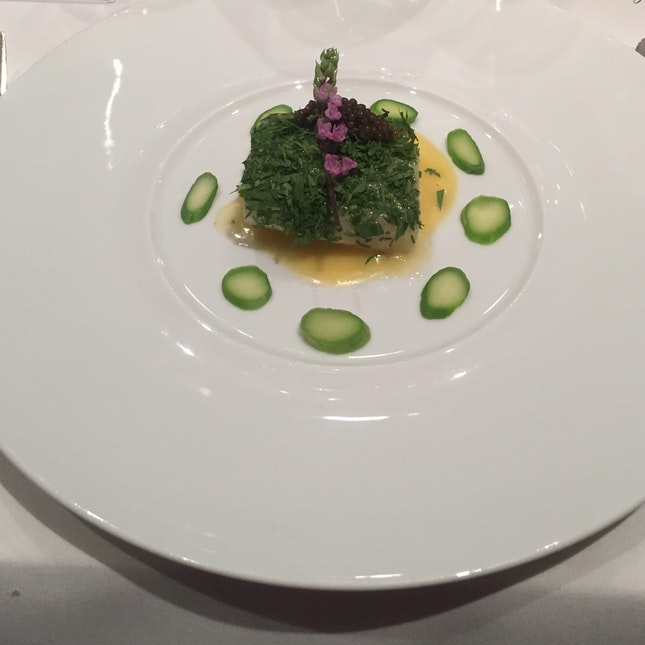 Poached Altantic Cod