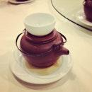Soup in tea pot #purplecane #burpple