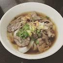 Tangkak Beef Noodle #burpple #tangkak #beefnoodle #beefnoodlesoup #东甲牛腩面