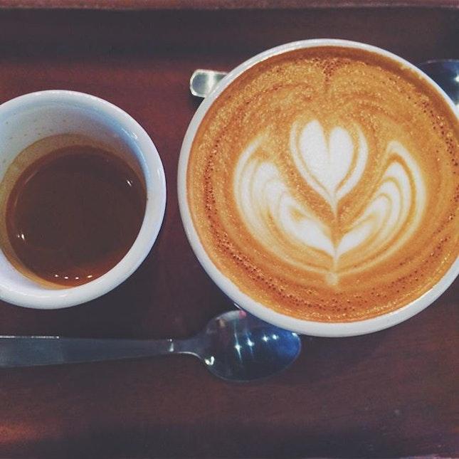 Signature Flight Coffee.