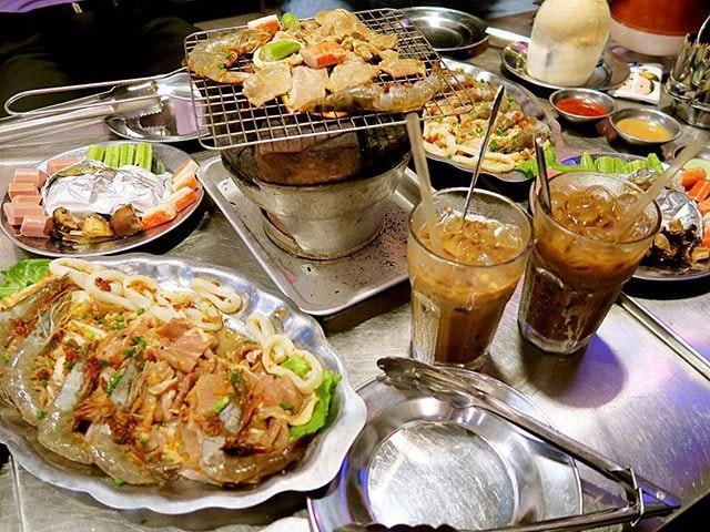 Vietnam BBQ for a change.
