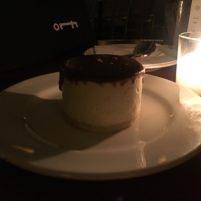 Butterscotch Mascarpone Cheesecake