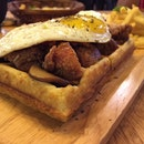 Savoury Waffle 😏