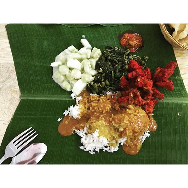 Mamak/ Banana Leaf Rice