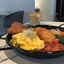 Typical Big Breakfast At Publika