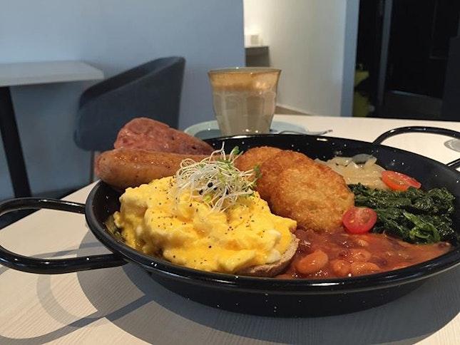 Typical Big Breakfast At Publika
