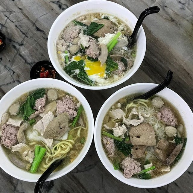Pork noodles aka Chu Yoke Fun (CYF) is no stranger to locals in Malaysia, and you can find it in one of the stalls in most of the kopitiams.
