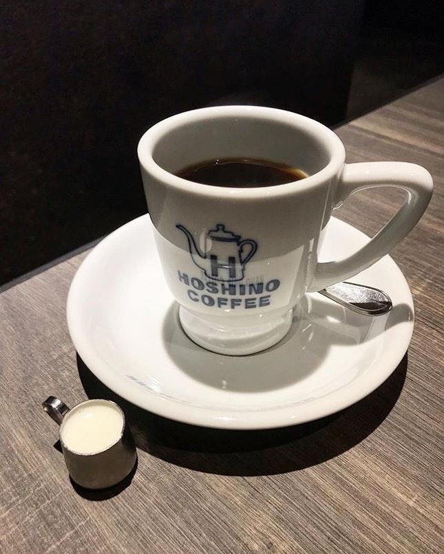 Hoshino hand drip coffee (RM12.90) .