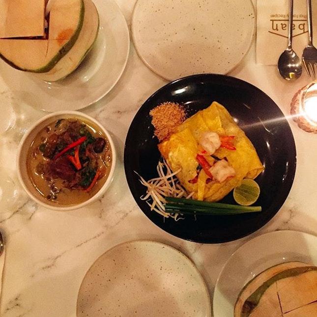 """""""Atas"""" Authentic Thai dinner 🍴#bkk"""
