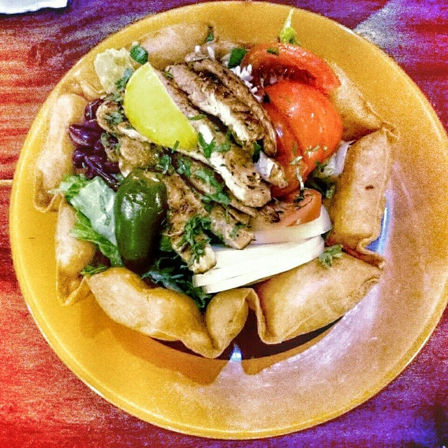 Chicken GrandeTaco Salad