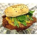 Yellow burger!