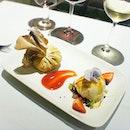 Chocolate lava purse 🍫😋 A lovely evening of great food & music❤️ #bobokl #dessertporn #aboutlastnight