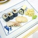 🍣🍱🍶 #sushihinata #earlydindin #predinnerdinner #friyay #aboutlastnight