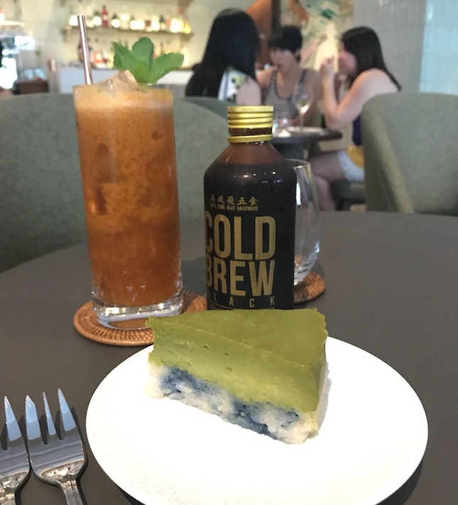 Kueh Salat And Cold Brew