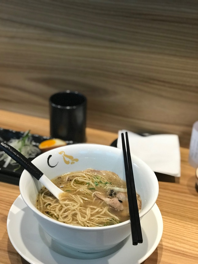 Shoyu Hamaguri Soup Ramen