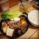 """""""Wagyu"""" Sukiyaki Set from Soup Stock Tokyo  As SST enters its final day of operations in Singapore, I look back at my visits, which could be counted on both hands."""
