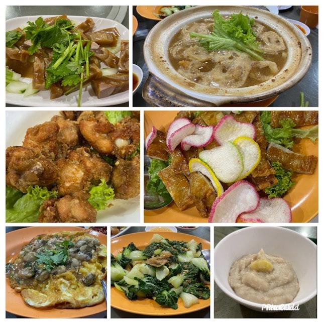 Traditional Teochew food