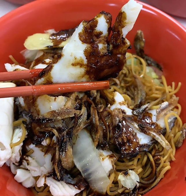 [Bee Hwa Yun Coffee shop]  Sliced fish Ban Mian - pretty huge bowl for $4?