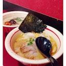 Sapporo Miso Tonkotsu Ramen ($14.50) & Salmon Teriyaki Ramen ($14.50) brings much comfort in this blistering cold temperature.
