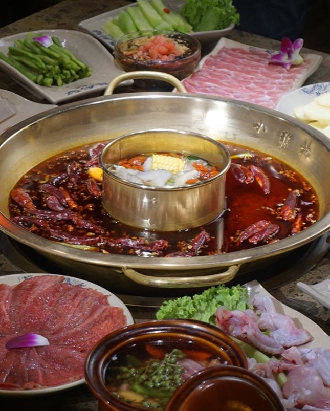 The way of the dragon by celebrating life with traditional Chinese hotpot @xiaolongkan_hotpot from Cheng Du!