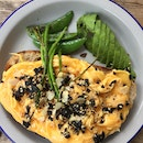 Scrambled Eggs With Furikake Topping