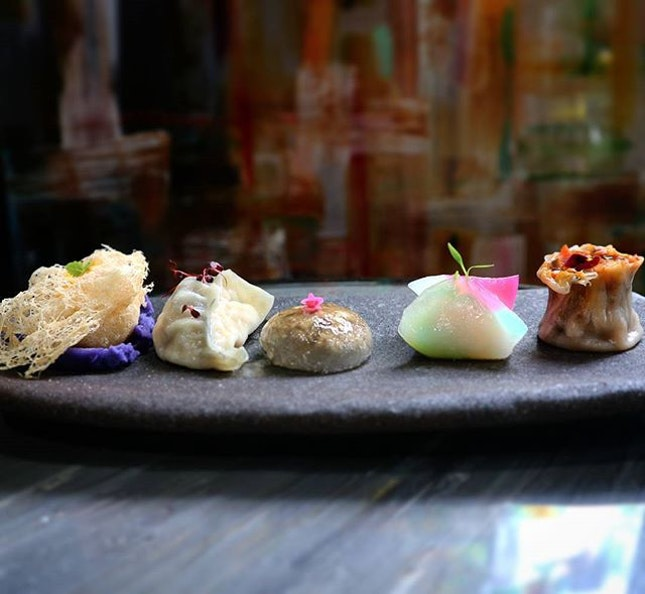 (NEW)  Janice Wong Singapore is a restaurant/bar in collab with Chef Ma *author of Dim Sum 2013.