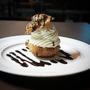 A choux with a sweet attitude.