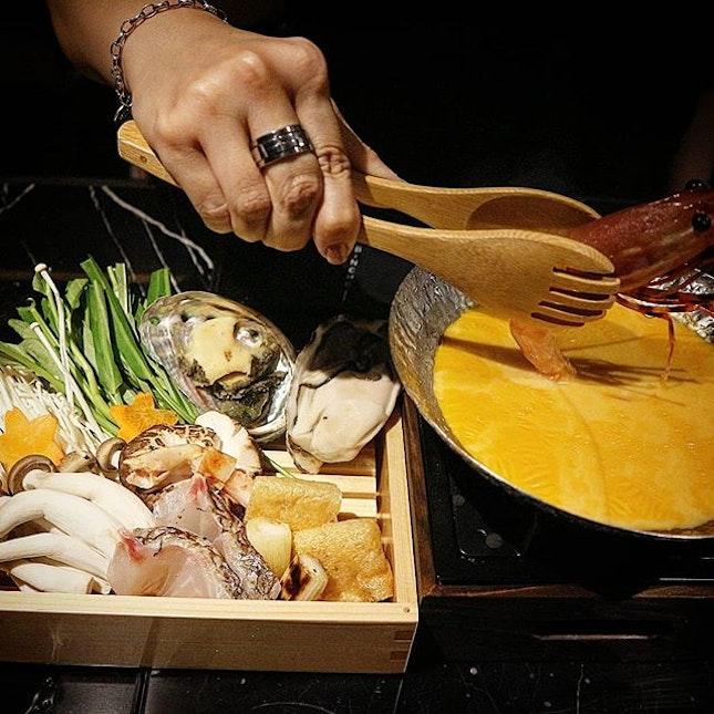 Have you tried uni shabu shabu hotpot?