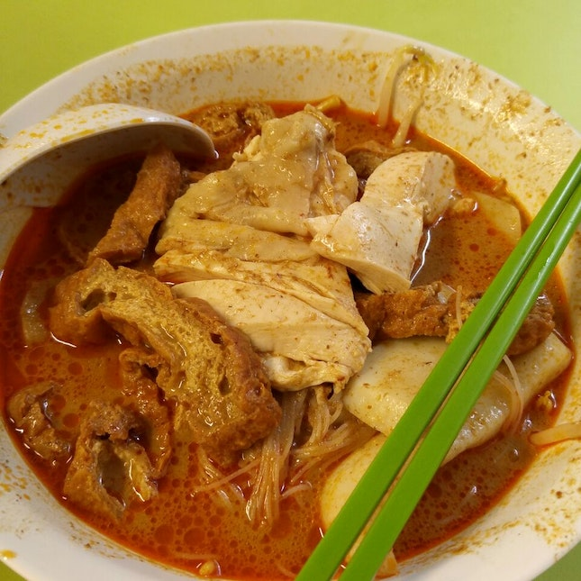 Sinful Curry Mee