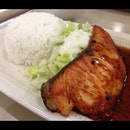 Terriyaki Salmon with Rice