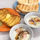 Kaya Toast & Soft Boiled Eggs