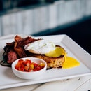 No use crying over spilled yolk Just get another brunch set - #hungryhungrymonster #burpple #collectivebrewers