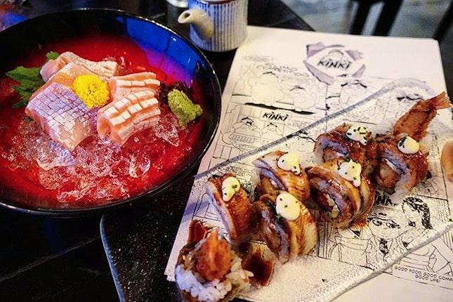 [kinki @kinkibar] Grand feast to celebrate #30 years of existence!