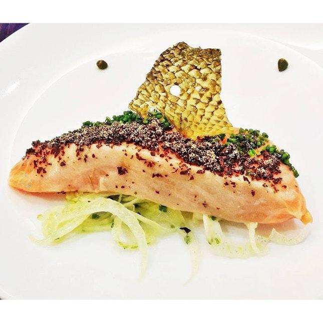 Salmon Confit (SGD $10.90) @ Saveur.
