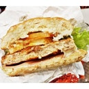 DIY Chicken Burger (SGD $7.30) @ BurgerUP.