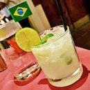 Caipirinha (SGD $14.80) @ Brazil Churrasco.