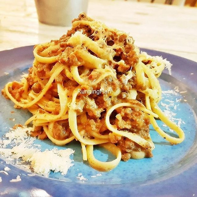 Bolognese (SGD $11) @ The RawR Kitchen.