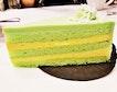 Durian Pandan Kaya Cake (SGD $7.90) @ Style By Style Vibes Cafe.