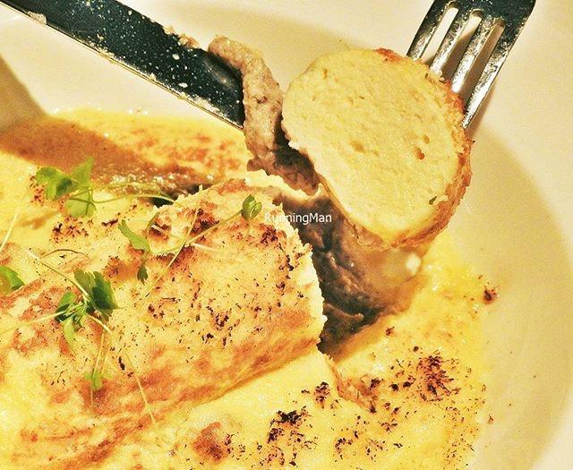 La Quenelle De Brochet Gratinée (SGD $28) @ Ginett Restaurant & Wine Bar.