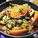 Fresh Crab With Shrimp In Pot (SGD $38.80) @ Wah Kungfu.