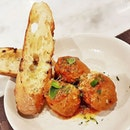 House-Made Meat Balls (SGD $17) @ The Kitchen By Wolfgang Puck.