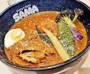 Oink Oink, Coconut Soup Base (SGD $15.90) @ Sama Curry & Cafe.