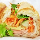 Banh Mi Saigon Special With Egg (SGD $9.80) @ Sandwich Saigon Cafe.