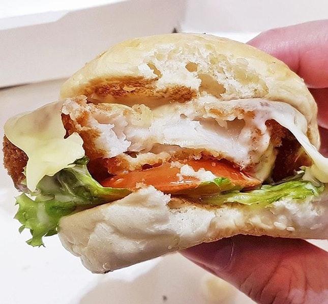Fish Slider (SGD $4.80) @ BurgerUP Express.