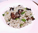 Fried Rice With Wild Mushrooms And Black Truffle (Signature Set Menu @ SGD $115 per person) @ Yan Ting.